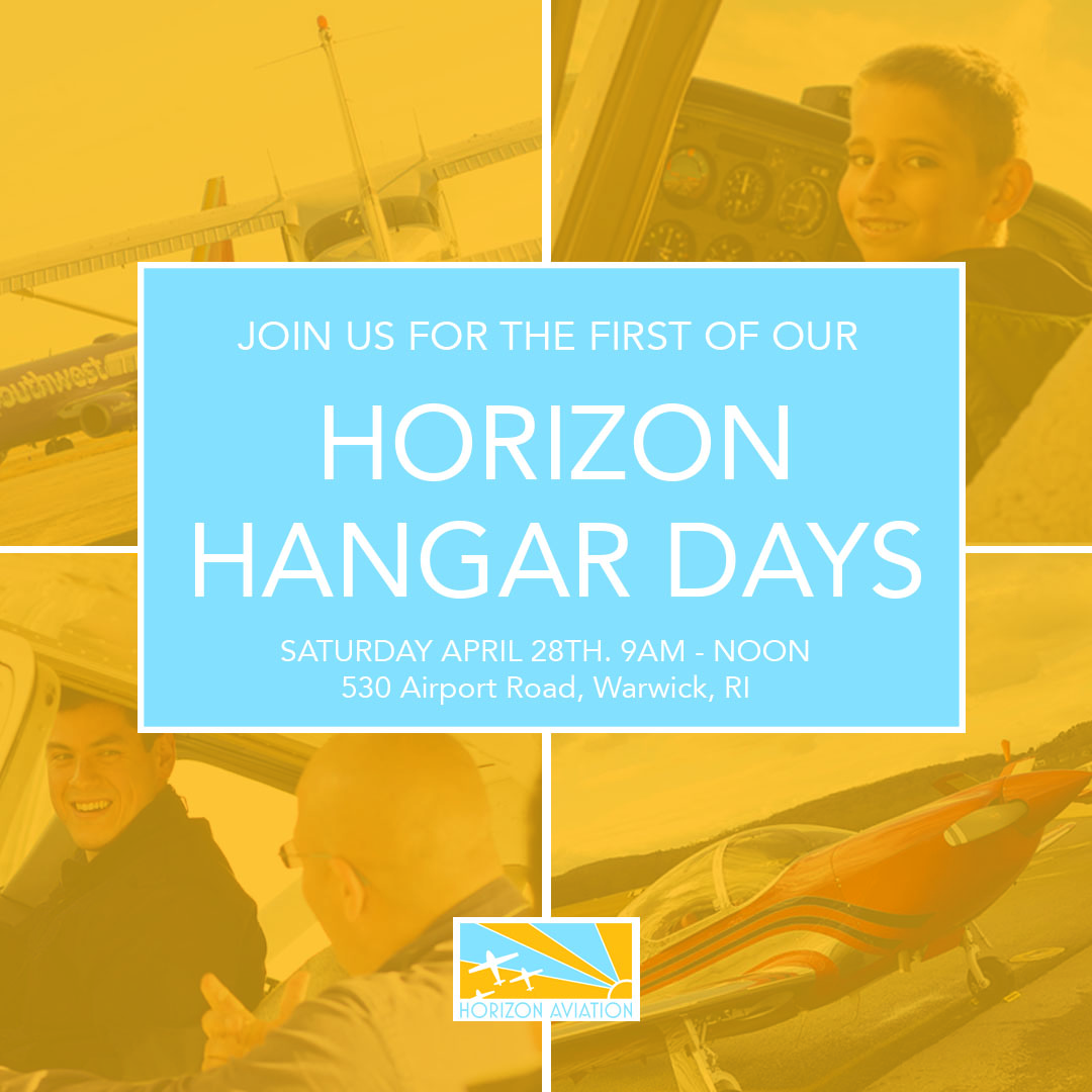 The First of Our Hangar Days! 4/28/18