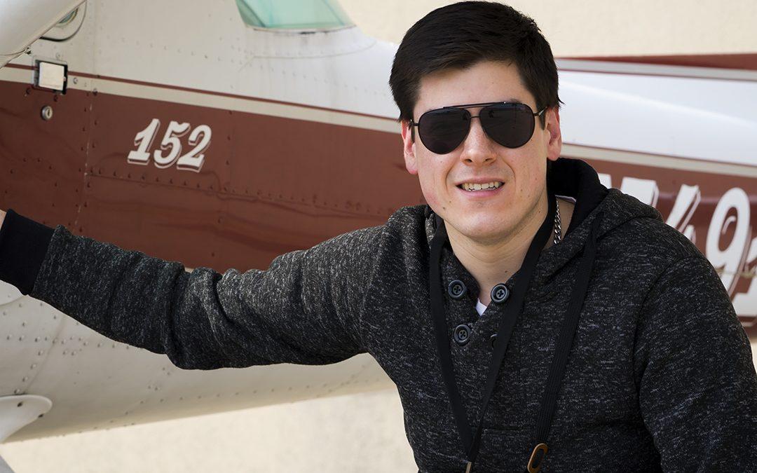 Mauricio is a Private Pilot!