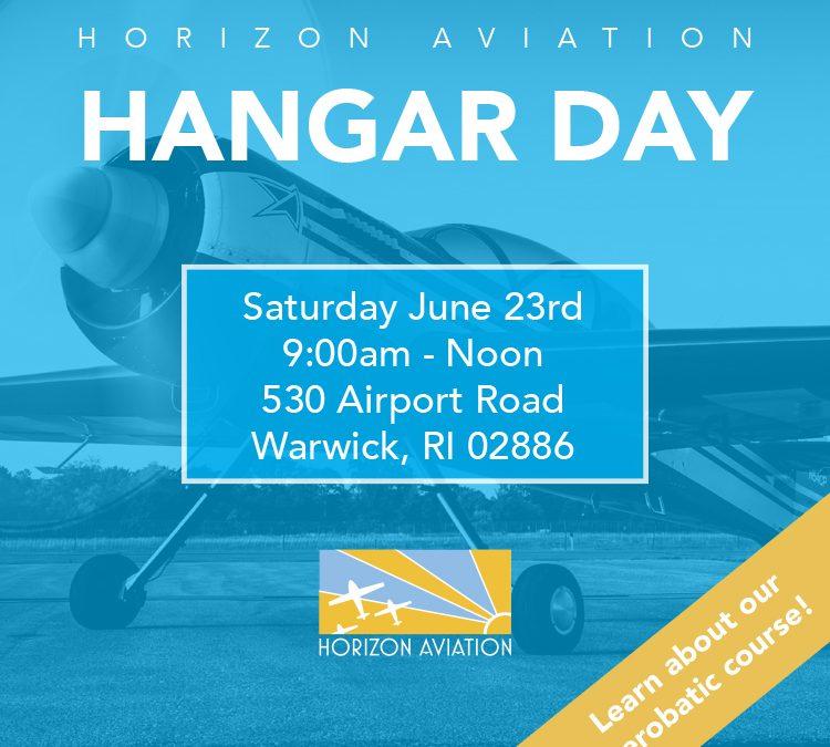 June Hangar Day! 6/23