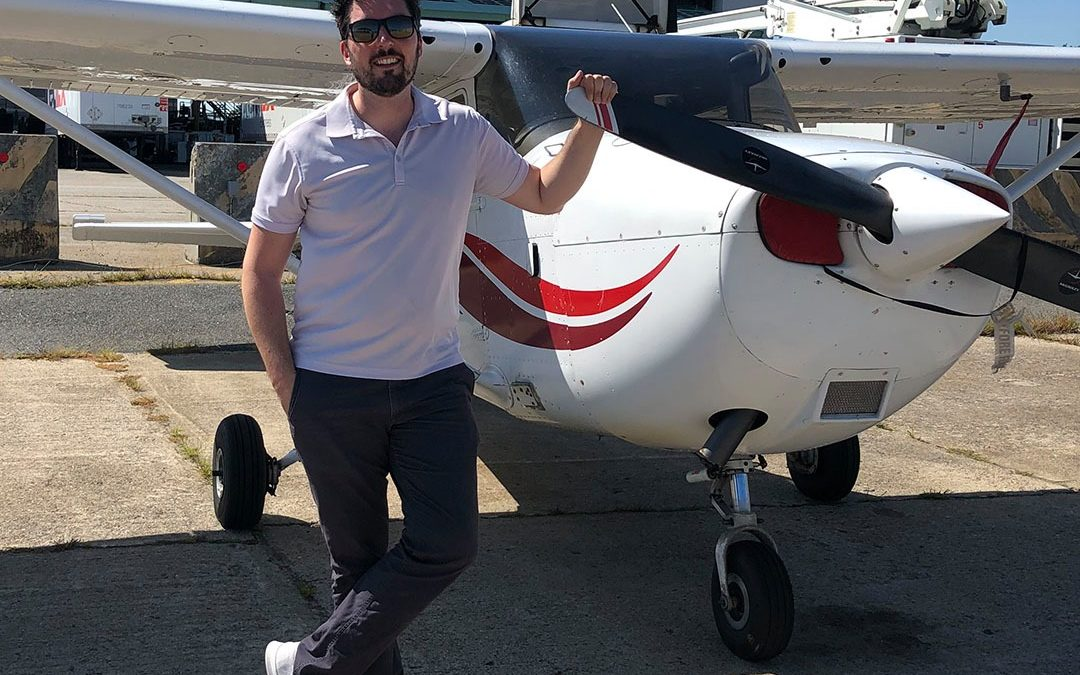 Michael is a Private Pilot!