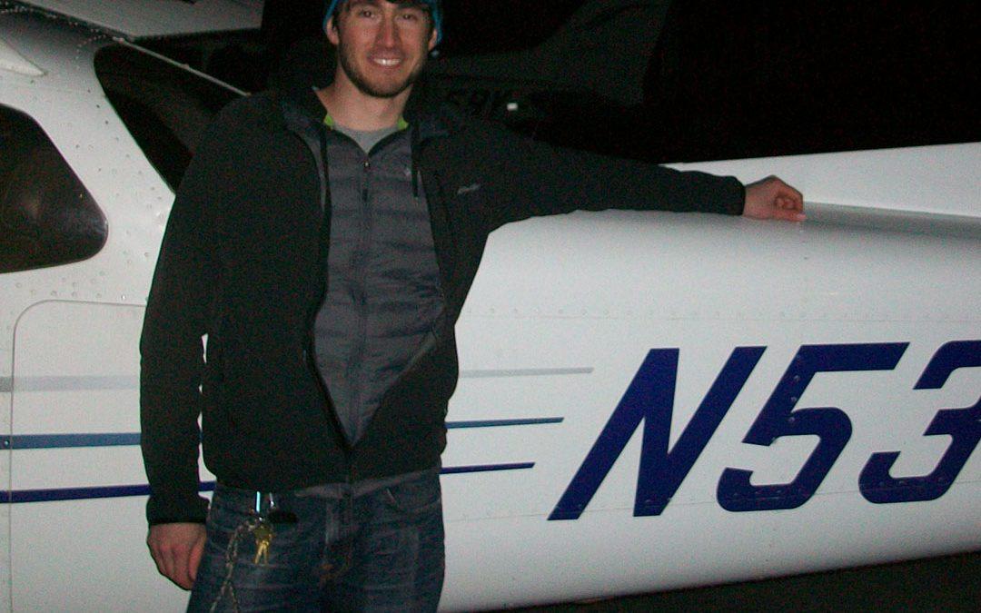 Zach is a Pilot!