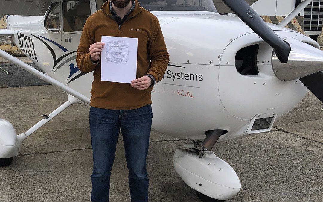 Ryan is a Pilot!