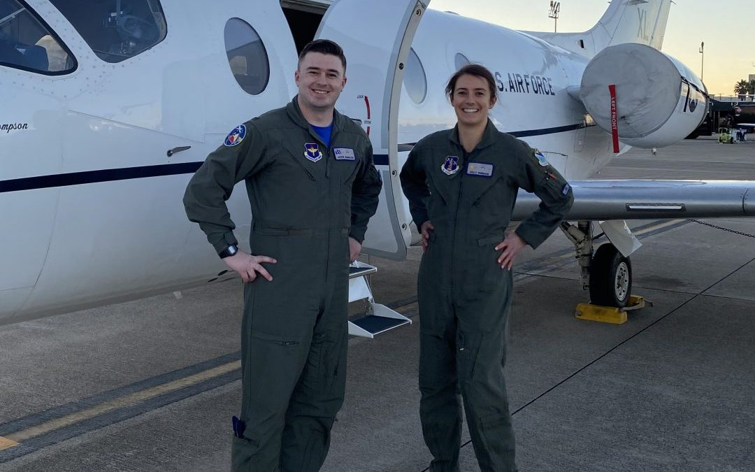 Horizon Alum Begins Jet Training in USAF