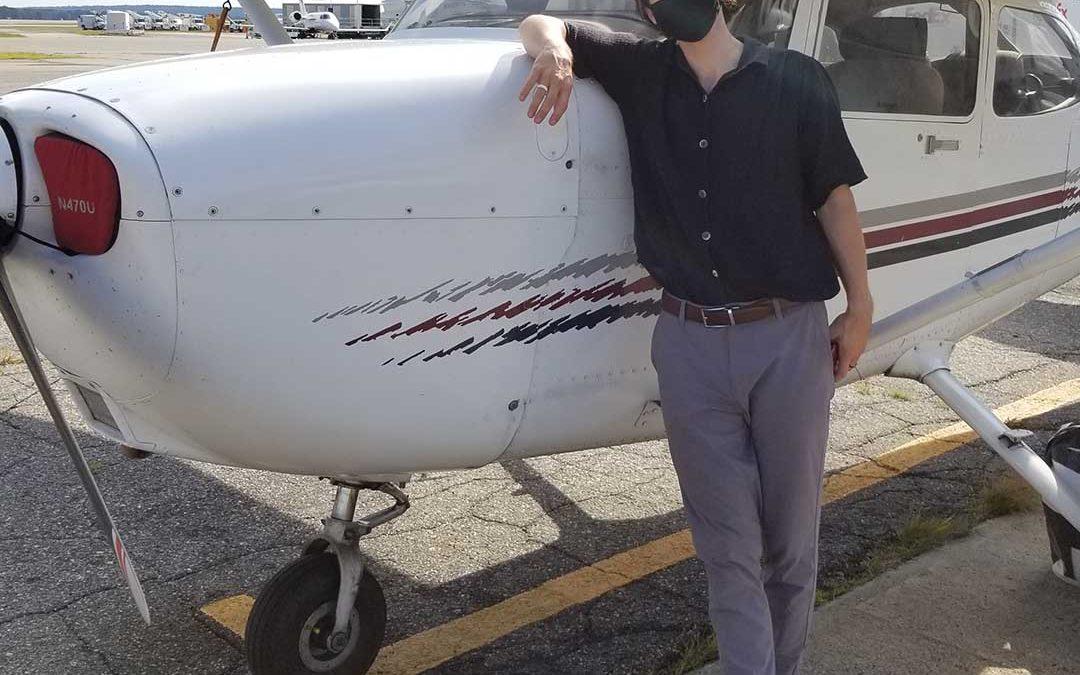 Walker is a Commercial Pilot!
