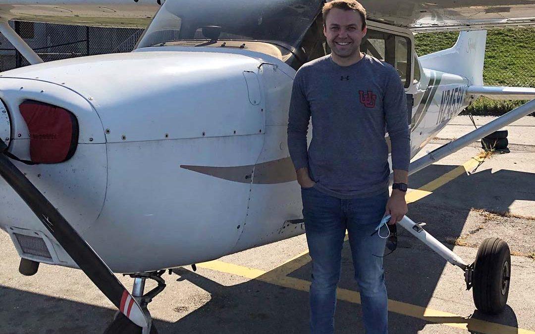 Adam is a Pilot!