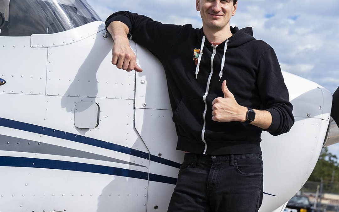 Andrew is a Pilot!