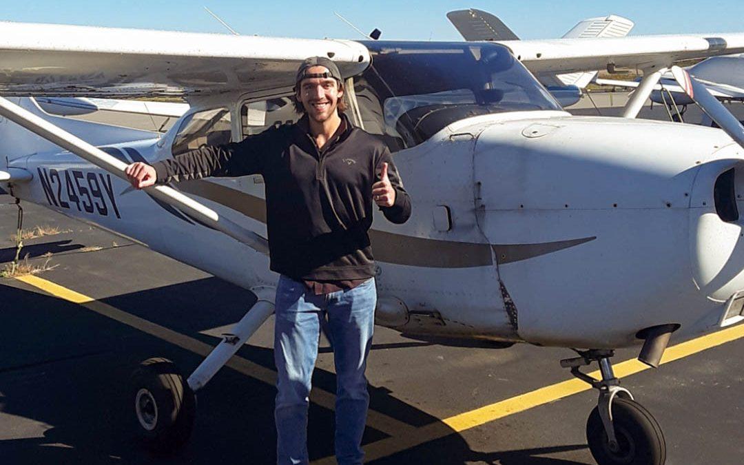 Brandon is a Pilot!