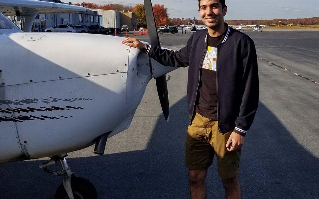 Gurveer is a Pilot!