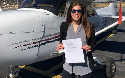 Marisa is a pilot!