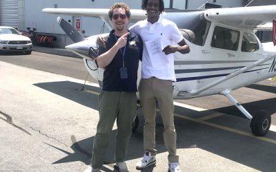 David is a Pilot!