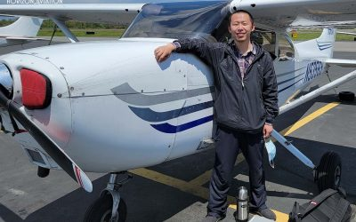 Yichao is a Commercial Pilot!