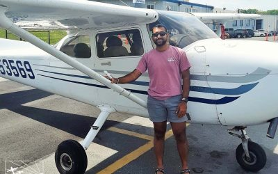 Abhi is a Pilot!