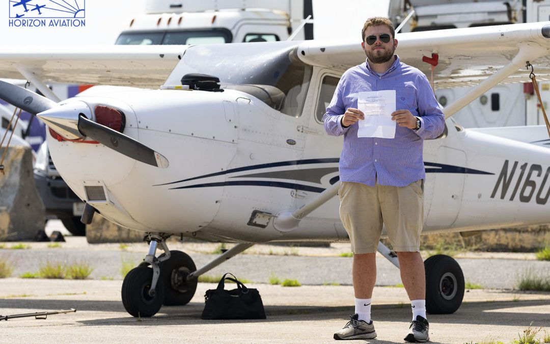 Chris is IFR Rated!