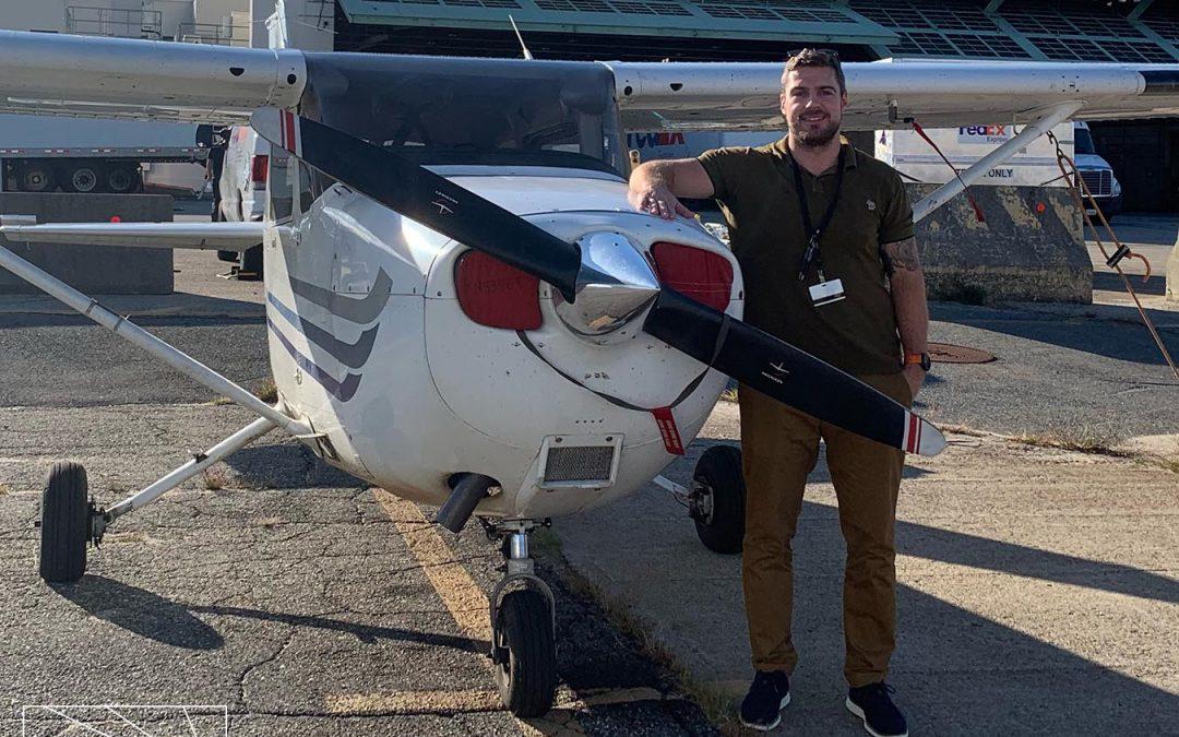 Michael is a Pilot!