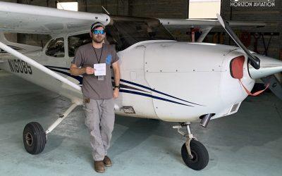Ricky is a Pilot!